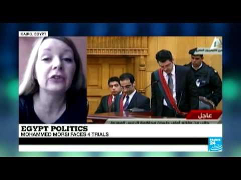 Egypt: Mohamed Morsi faces 4 trials
