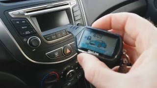 видео автомобильная сигнализация starline