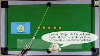 BlackBall Exercise #4 - Draw Shots Drill 1 - Pool & Billiard Training Lesson