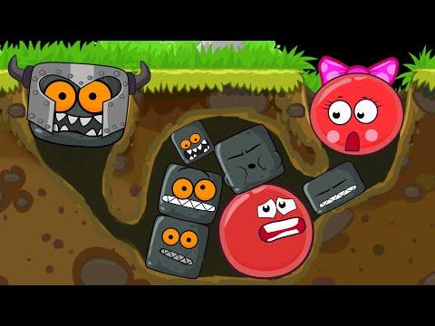 """КРАСНЫЙ ШАРИК """"Red Ball 4"""" ! Новая веселая Игра ! развивающая для детей !"""