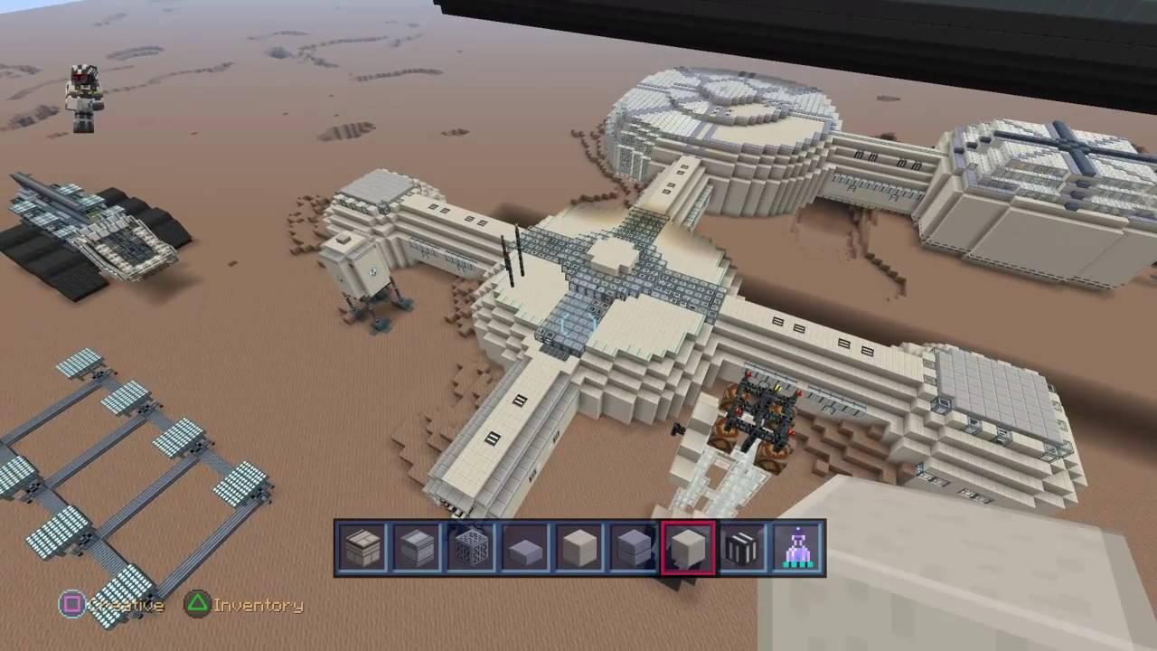 mars base minecraft - 1280×720