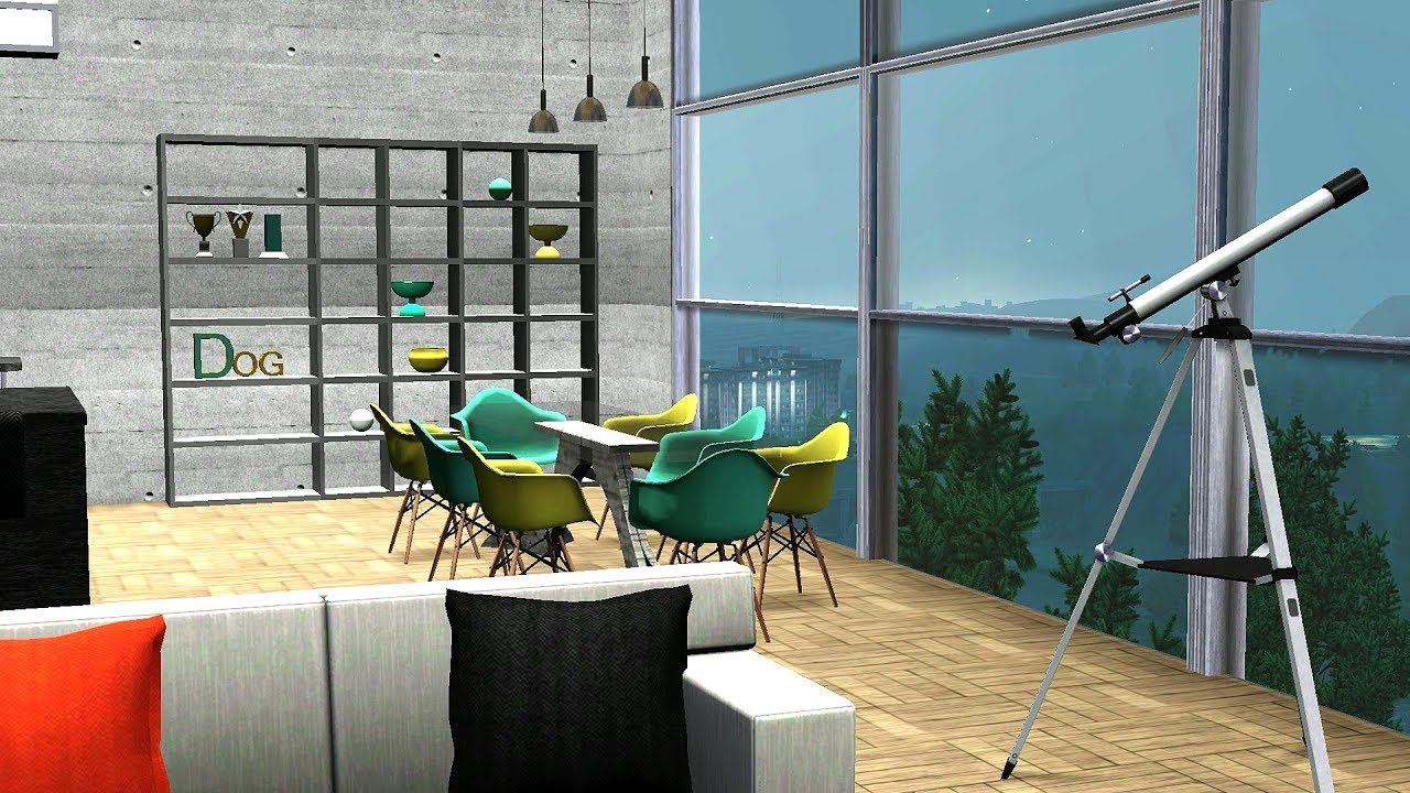 Gta 5 Online Luxury Apartment Built With Sims 3
