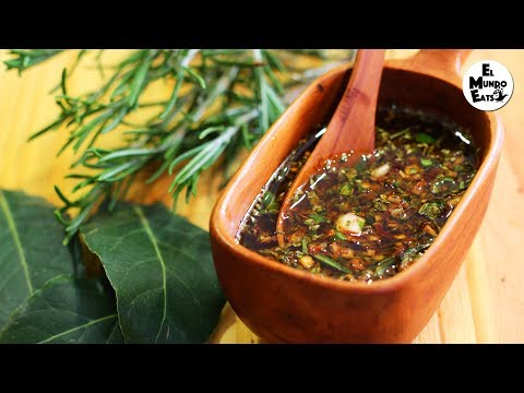 How To Make Argentine Chimichurri | El Mundo Eats Recipe #8