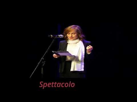 Isabelle Huppert riceve il Premio Europa per il Teatro