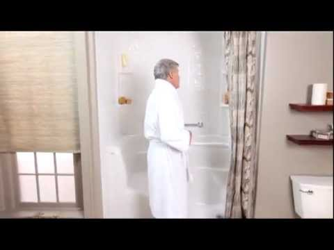 American Standard Brands Walk In Bath Video Vignette Youtube
