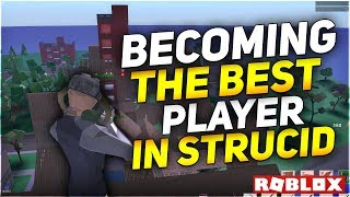 BECOMING A PRO IN STRUCID ROBLOX (Strucid Roblox)
