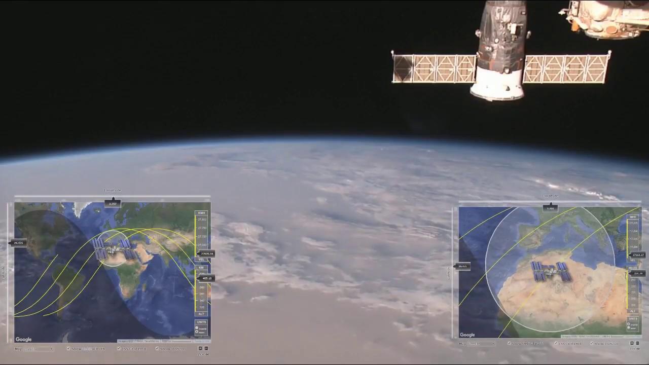 international space station tracker - 1280×720