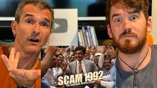 Scam 1992 - The Harshad Mehta Story Trailer REACTION!!  | Pratik Gandhi | Hansal Mehta