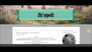 Ouverture d'un blog ?!