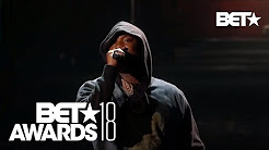 """Stay Woke""! Meek Mill & Miguel In An Emotional Police Brutality Live Performance 