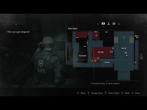 Resident Evil 2 West Office Safe Code