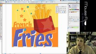 Edit French Fries in Adobe Illustrator Tutorial
