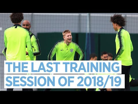 THE LAST TRAINING SESSION OF 2018/19   PRE-FA CUP FINAL