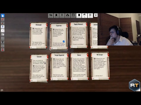 Playing Tabletop Simulator | Imperial Assault | #PinkArmy | nerd404/SneakyRussian/Lyrien