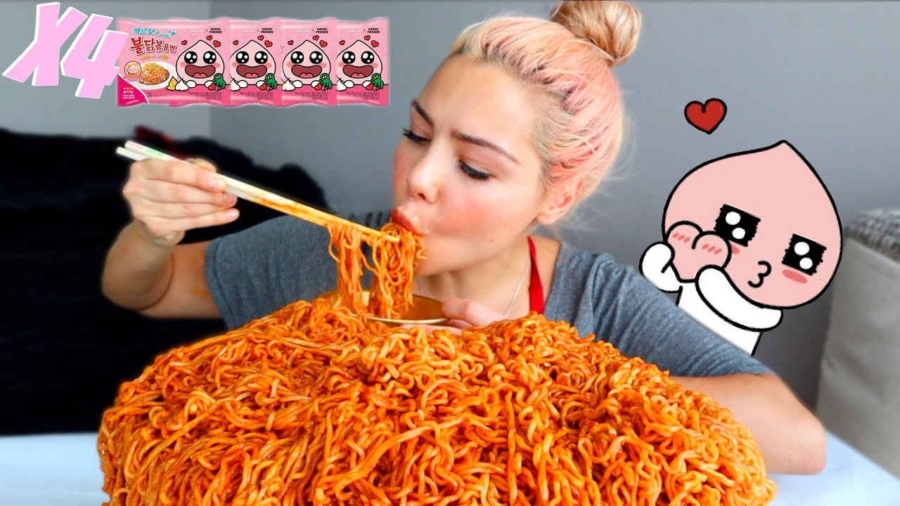 new-carbo-fire-noodle-limited-edition-먹방-mukbang-hotdog