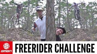 The GMBN Freerider Challenge! | Blake Samson Vs. Martin Soderstrom