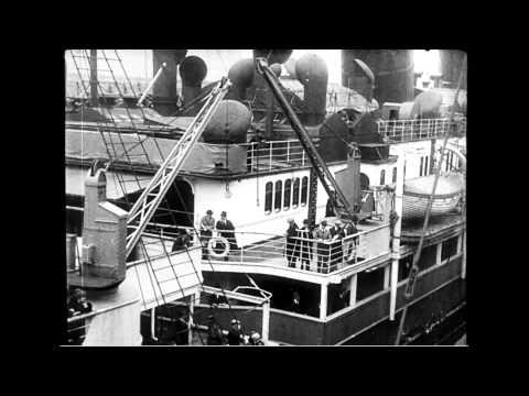 S.S. Lusitania Leaves New York City on Last Voyage
