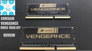 corsair vengeance DDR3L 16GB kit review