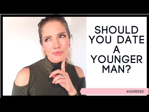 Is it a bad idea to date a younger man? Should you date a younger man #askRenee