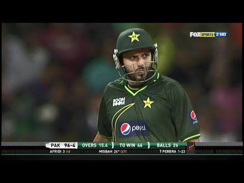 Pakistan vs Sri Lanka T20 Match 2011 Thrilling Finish thumbnail