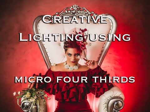 Creative Lighting Using a Micro Four Thirds Camera- Rotolight Lighting with the Olympus OMD Mark 2