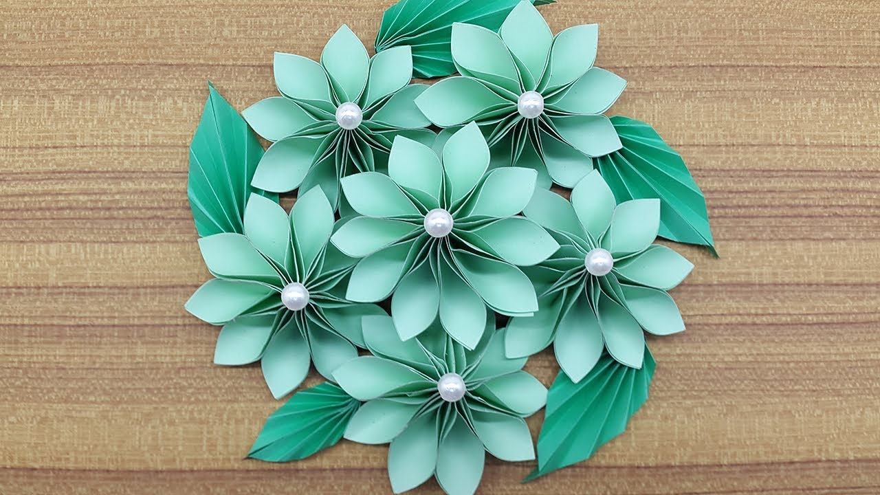 How To Make A Paper Flowers Bouquet Making Paper Flower Step By Step Complete Tutorial
