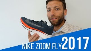 Nike Zoom Fly, así son las zapatillas voladoras Review 2017