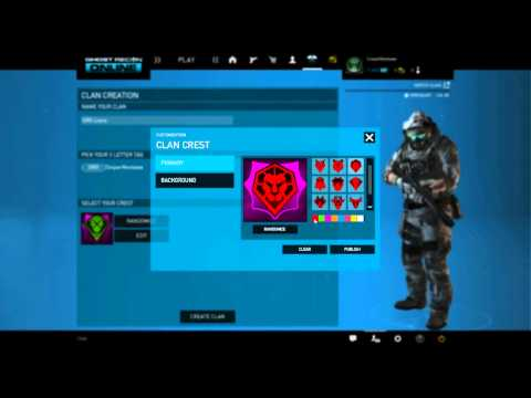 ghost recon phantoms clan matchmaking
