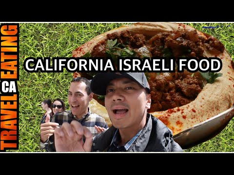 FOOD VLOG | ISRAELI FOOD RESTAURANT | Oren's Hummus Shop, Cupertino CA