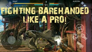 Shadow Fight 3 Fighting BAREHANDED Like A Pro!
