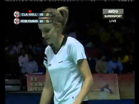 2006 World Championships - XD Final - Nathan Robertson / Gail Emms vs Anthony Clark / Donna Kellogg