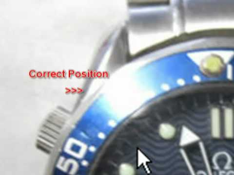 How To Identify A Fake Omega watch Listing On E-bay.