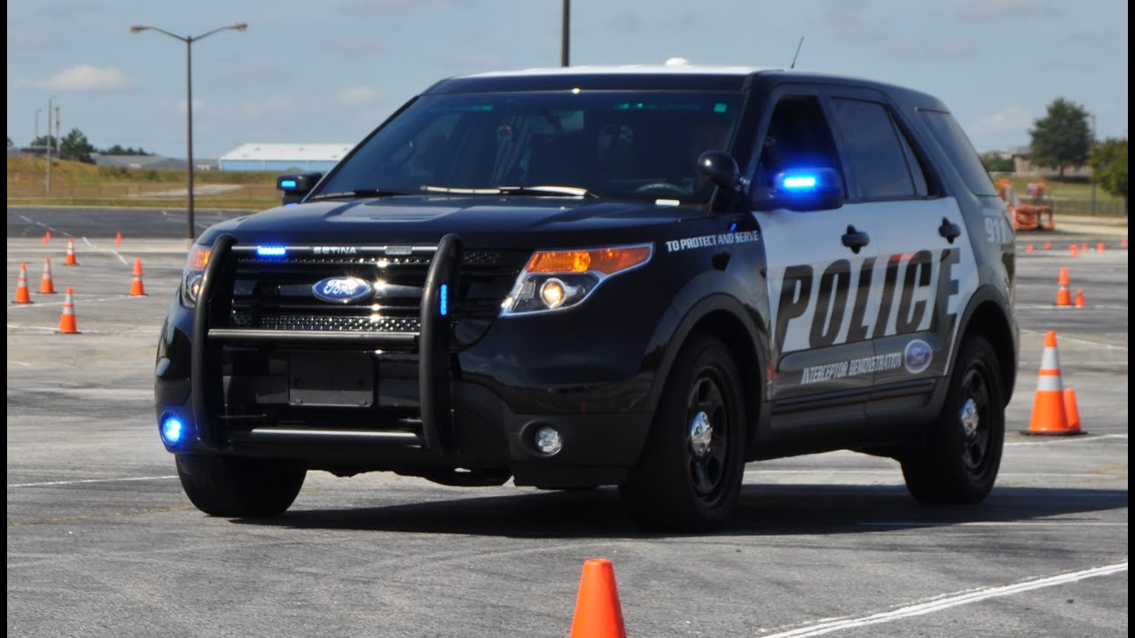 2015 Ford Interceptor Utility Explorer Police Pursuit
