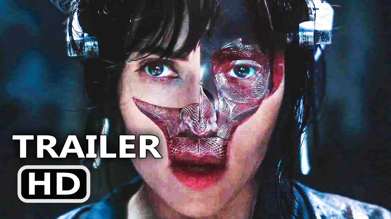 Ghost In The Shell Super Bowl Spot Trailer 2017 Scarlett Johansson Action Movie Hd Youtube