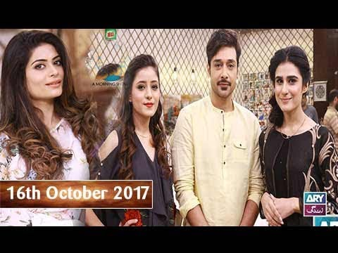 Salam Zindagi With Faysal Qureshi - Ruby Shakel & Nadia Hussain - 16th October 2017