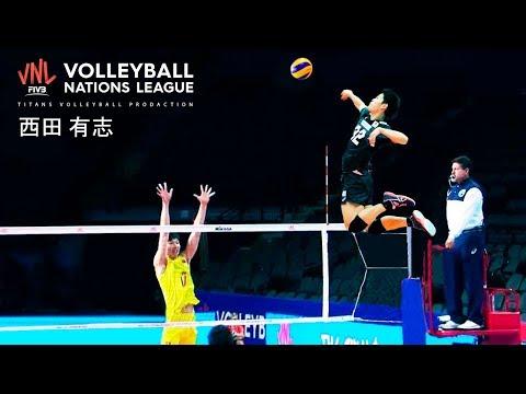 Yuji Nishida | 19 Years Old Monster Of The Vertical Jump | VNL 2019 ᴴᴰ
