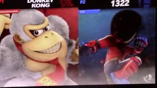 Nathan Pineapple (Donkey Kong) vs. FireThePyro (Mii Brawler) - Losers Top 16 - WGA Colosseum 7
