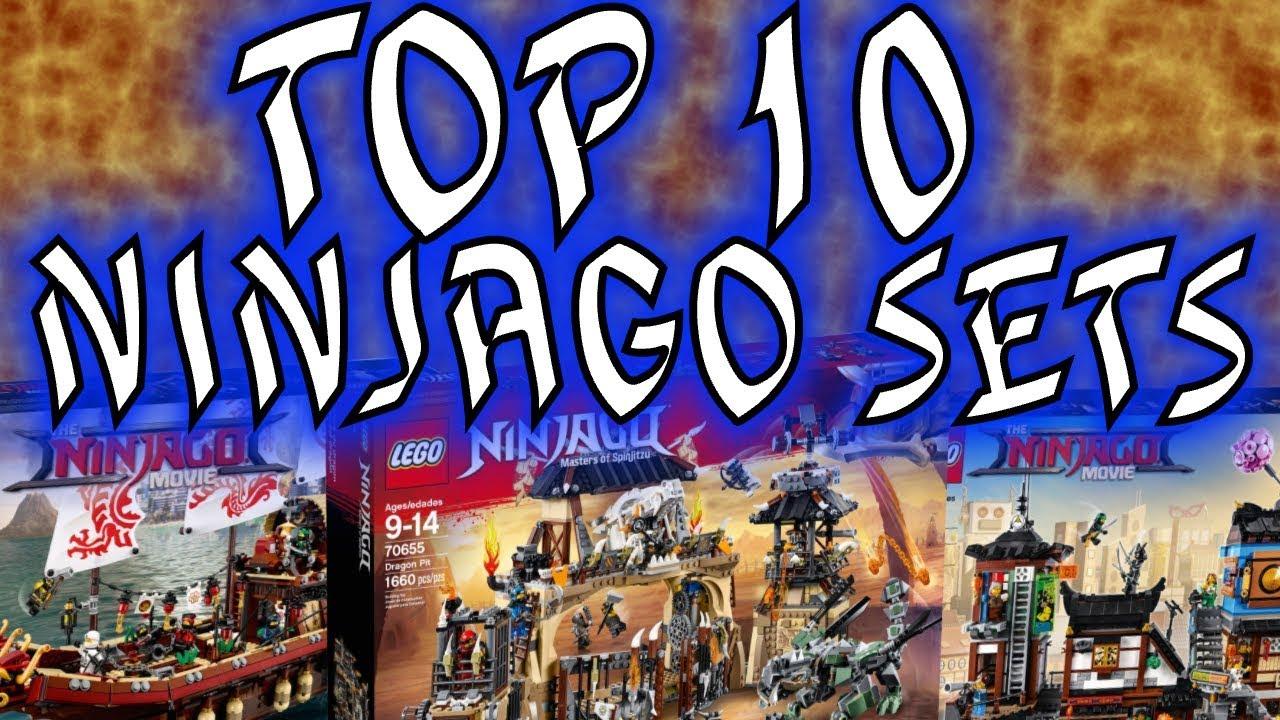 LEGO NINJAGO - TOP 10 BEST SETS