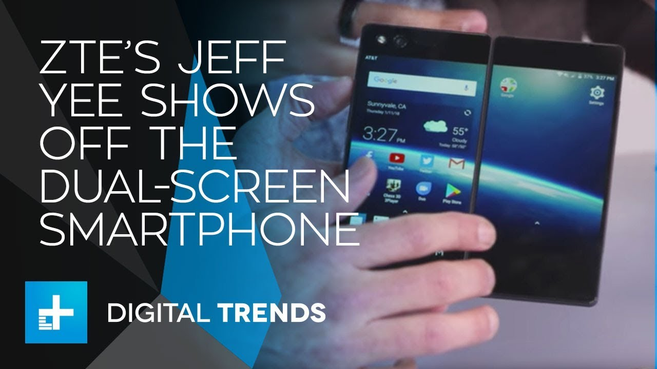 Jeff Yee, VP of Product Marketing & Strategy at ZTE Mobile Devices – Live Interview at CES 2018