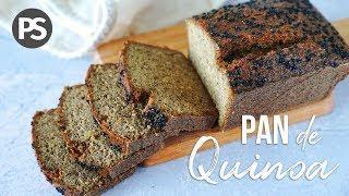 PAN DE QUINOA     4 INGREDIENTES -SIN HUEVO, SIN GLUTEN - ( VEG)
