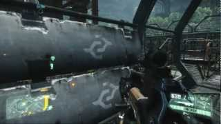 Crysis 3: Campaign Mission 3, the root of all evil, Xbox/PS3/PC HQ (Skippable Cutscenes)