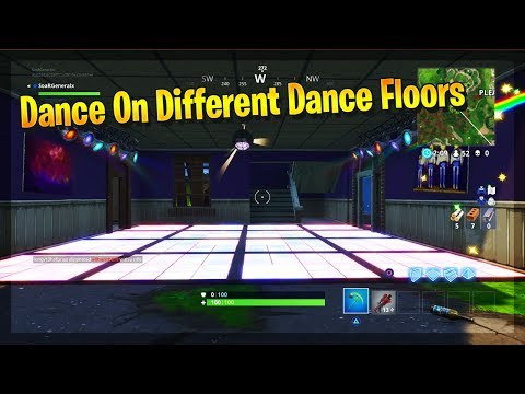 ''Dance on different Dance Floors'' -  Fortnite Battle Royale Week 8 Challenges Location Guide