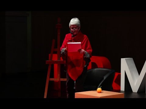 If you want to paint a chair you have to become one | Heidi Trautmann | TEDxMETUNCC