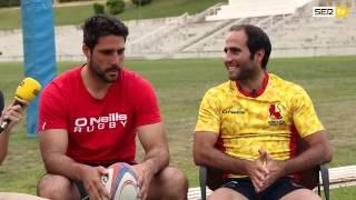 """Feijoo y Nava: """"En el rugby no tienes que temer por tu físico"""" #LaVidaModerna –OhMyLOL en Cadena SER"""