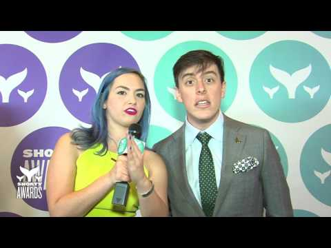 Thomas Sanders' Teal Carpet Interview at the Shorty Awards