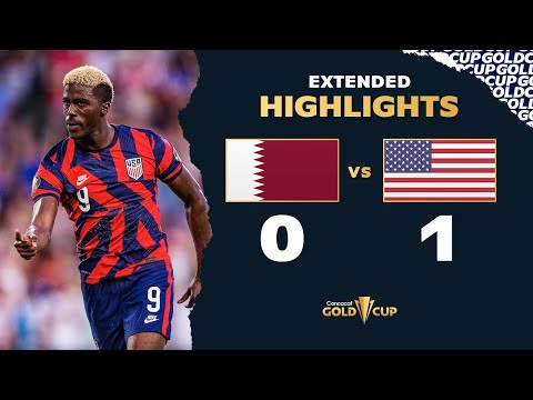 Extended Highlights: Qatar 0-1 USA – Gold Cup 2021