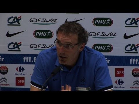 """Foot: """"les résultats, la première thérapie"""" (Laurent Blanc)"""