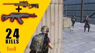 24 Kills - Solo vs Squads - Predator PUBG Mobile Gameplay