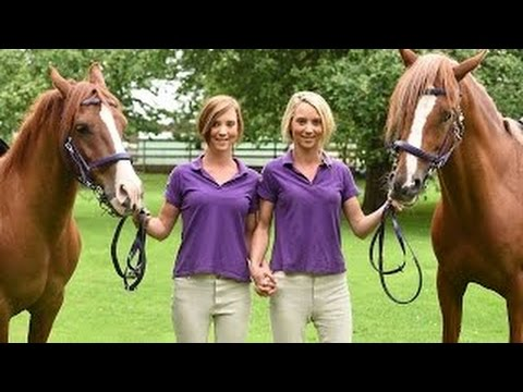 Identical Twins Have Identical Twin Horses