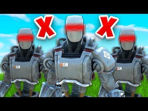 How To BREAK AI Bots In Fortnite...